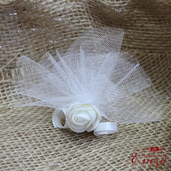 Сватбен късмет E7 бяло